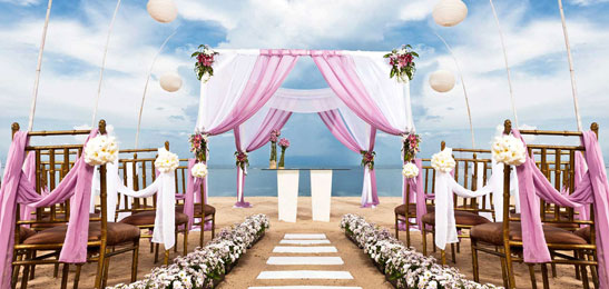 Beach Wedding in Bali, Bali Wedding Venues