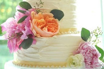 Exclusive wedding cake bali