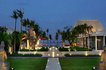The Royal Santrian Bali Villas, Beach Wedding Bali